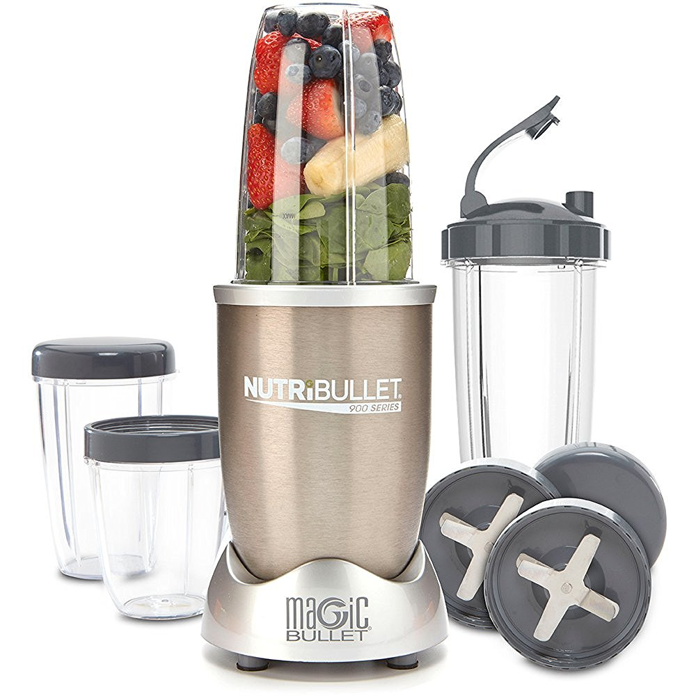 NUTRIBULLET VS NINJA MASTER PREP review